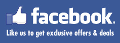 Follow us on Facebook for the latest offers and deals