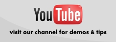 Checkout youtube videos on the latest priducts and fitting advice