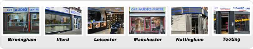 Car Audio Centre Stores