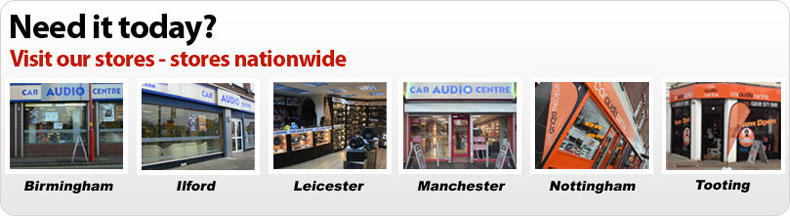 Car Audio Centres nationwide stores