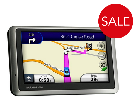 Garmin Nuvi 1300 NOH Portable 4.3 Sat Nav with UK and ROI Maps