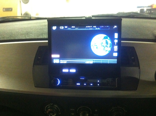 Bmw Z4 Has A Pioneer Avh 6300bt Installed At Car Audio