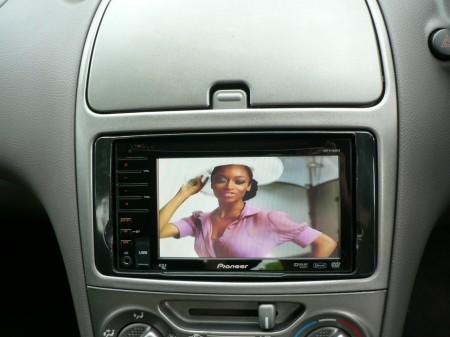 Alpine double Din dvd Bluetooth Head Unit sat Navigation