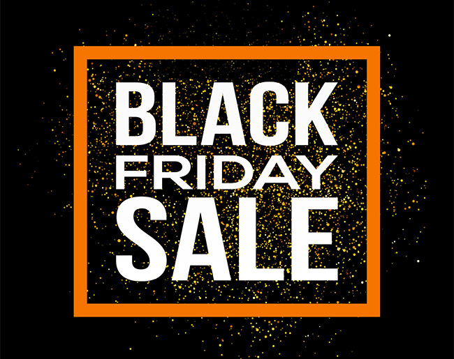 Black Friday is here, check out our latest deals