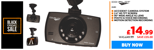 CoPilot CPDVR1 - Digital Dash Cam � remarkable value