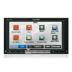 kw av51 6 1 touch screen av car stereo system usb aux. Black Bedroom Furniture Sets. Home Design Ideas