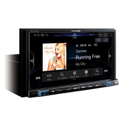 Alpine Car Audio Systems INE-W720DC