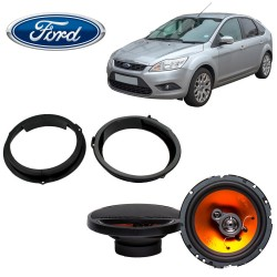 Juice Car Audio JS653 Ford Focus Speaker Upgrade