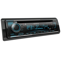 Kenwood Car Audio KDC-BT740DAB+CTKVW04