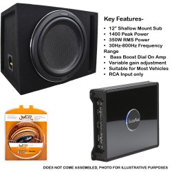 In Phase Car Audio BX12P