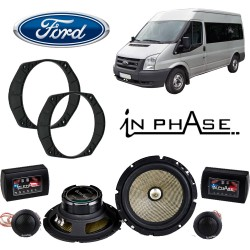 In Phase Car Audio XTC6CX Ford Speaker Upgrade System