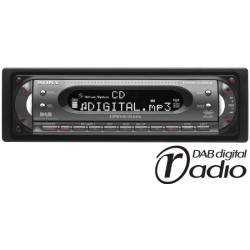 Sony cdx dab6650 dab cd mp3 player cdx dab6650 from sony publicscrutiny Image collections