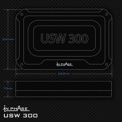 In Phase Car Audio USW300