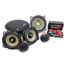 In Phase Car Audio XTC4cx + XTC6cx