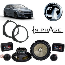 In Phase Car Audio XTC6CX Vauxhall Astra H Speaker Upgrade