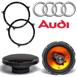 Juice Car Audio JS653 Audi A4 Speaker Upgrade