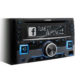 Alpine Car Audio Systems CDE-W296BT