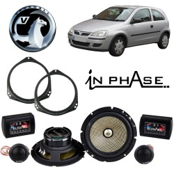 In Phase Car Audio XTC6CX Vauxhall Corsa C Speaker Upgrade