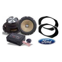 In Phase Car Audio XTC6CX Ford Focus Speaker Upgrade System