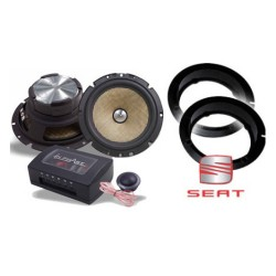 In Phase Car Audio XTC6CX Seat Leon Speaker System Upgrade