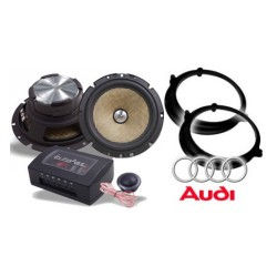 In Phase Car Audio XTC6CX A4 Package
