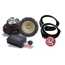 In Phase XTC6CX Vauxhall Corsa C Speaker Upgrade