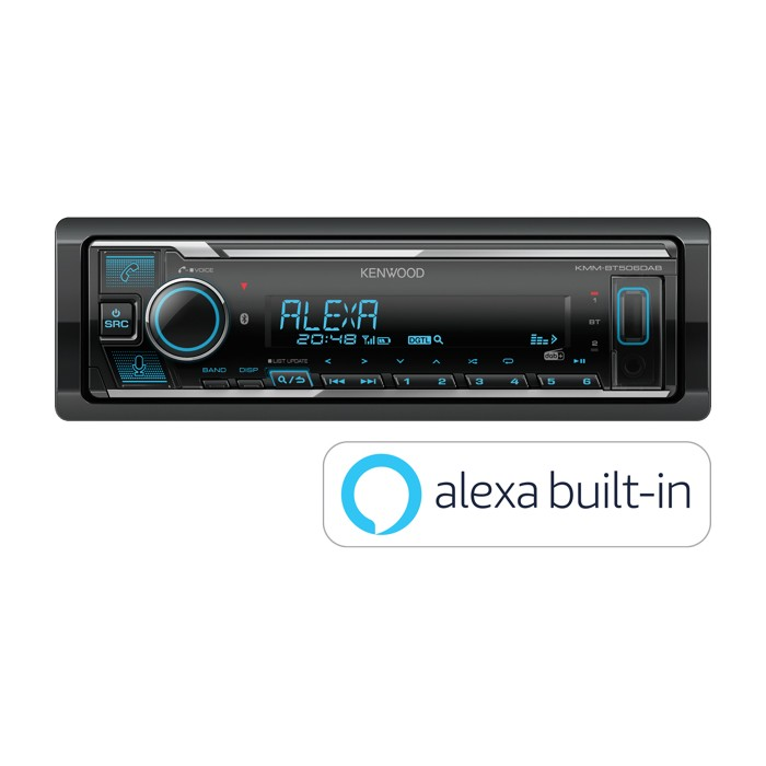 Alexa Kenwood Car Audio KMM-BT506DAB 1