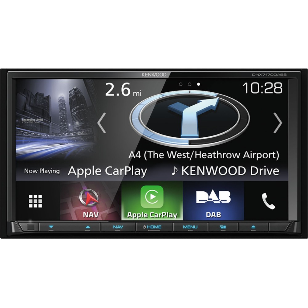 In Car Sat Nav Kenwood Car Audio DNX8170DABS