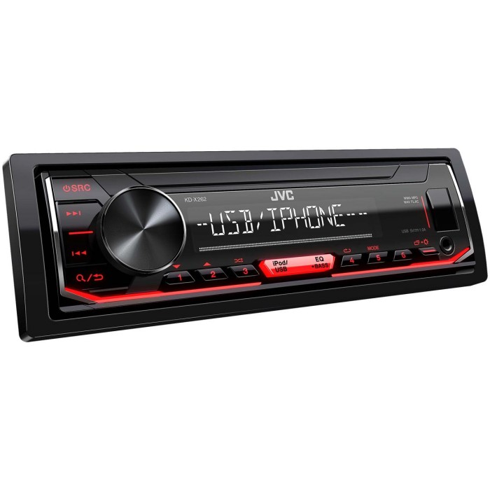 Mechless Car Stereo JVC KD-X262 1