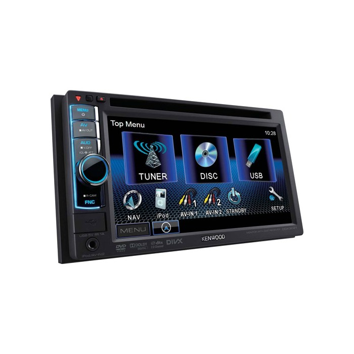 Double Din Kenwood DDX-3021
