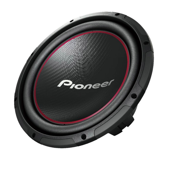 Sub and Amp Packages Pioneer TS-W304R + BX12S