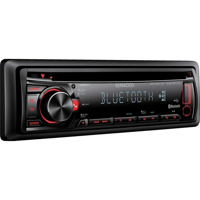 Bluetooth Kenwood KDC-BT31U 1
