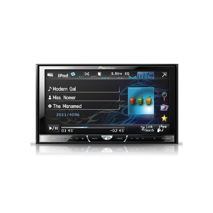Double Din Screen Pioneer AVH3400DVD