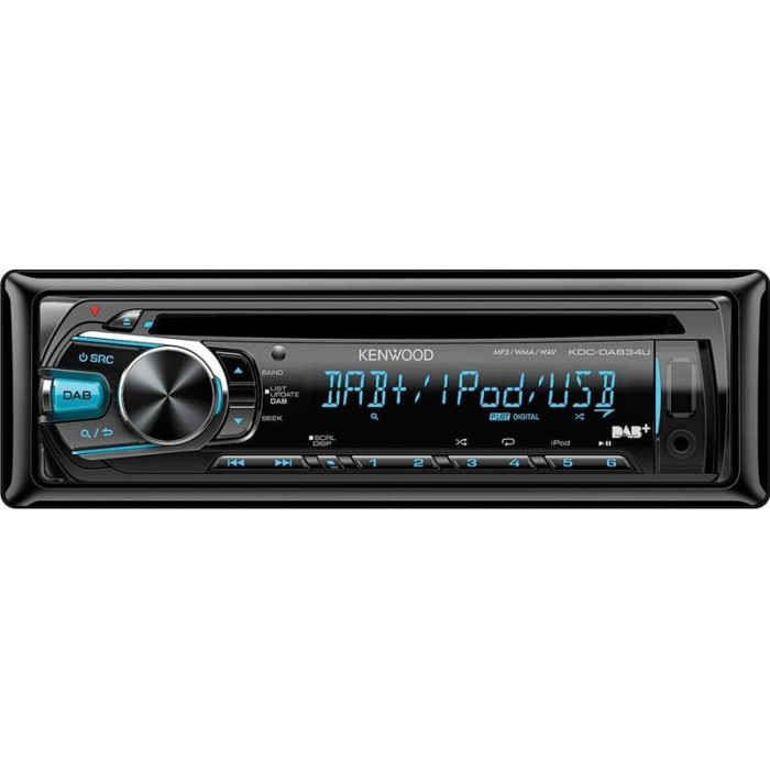 Aux in Kenwood KDC-DAB34U