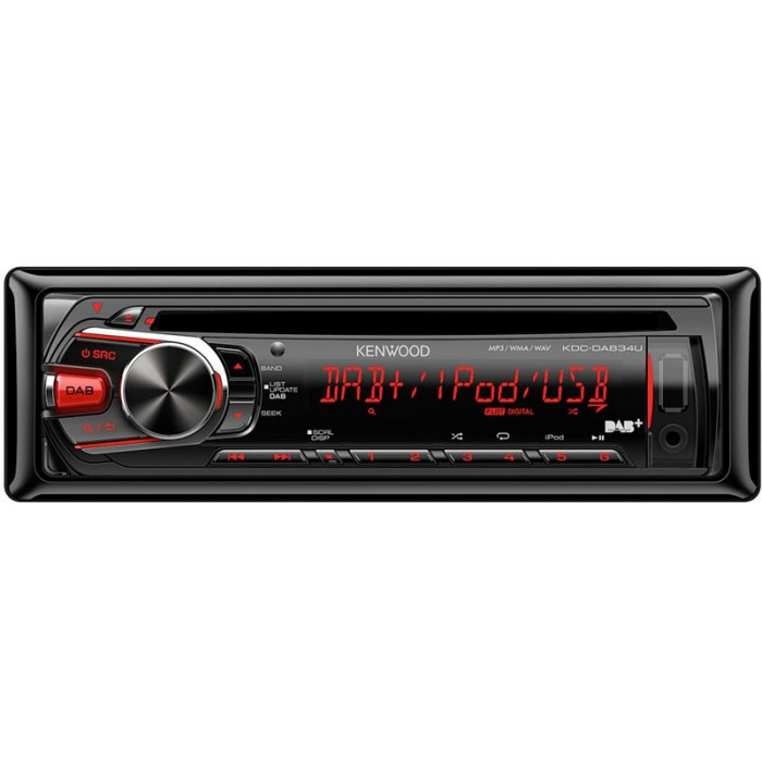 Aux in Kenwood KDC-DAB34U  1