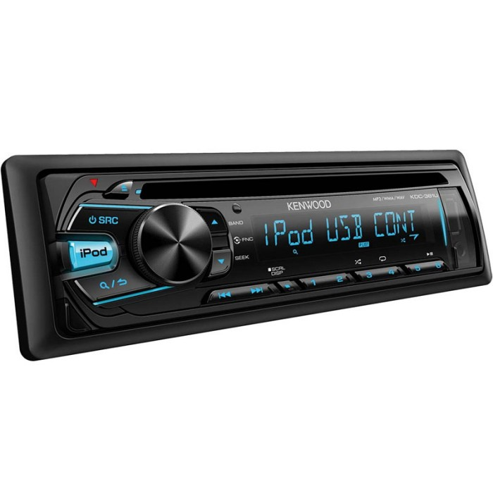 iPhone Compatible Kenwood Car Audio KDC-364U
