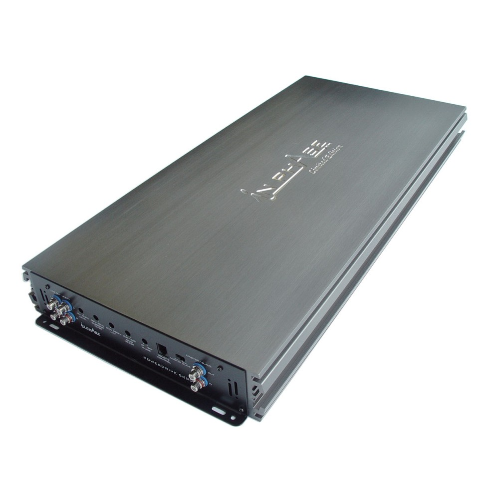 Monoblock / Digital (Class D) Amplifiers In Phase Car Audio Power Drive 5000