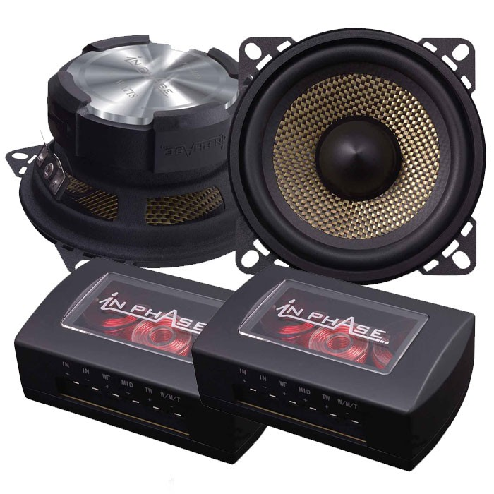 Car Speakers In Phase XTC4CX