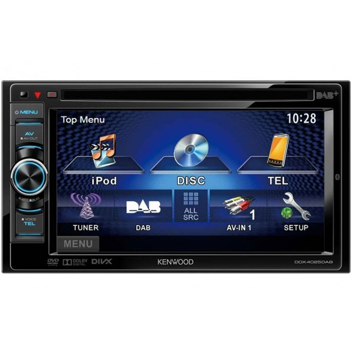 Double din screen Kenwood DDX-4025DAB