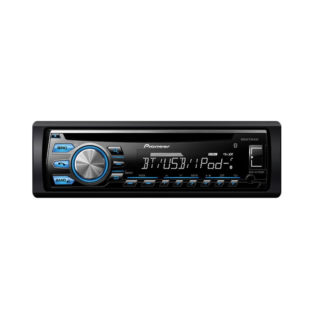 pioneer deh 4700bt bluetooth car stereo with usb aux input. Black Bedroom Furniture Sets. Home Design Ideas