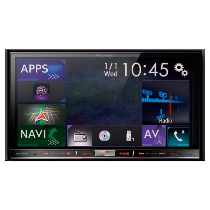 Sony car music system with bluetooth and navigation 8