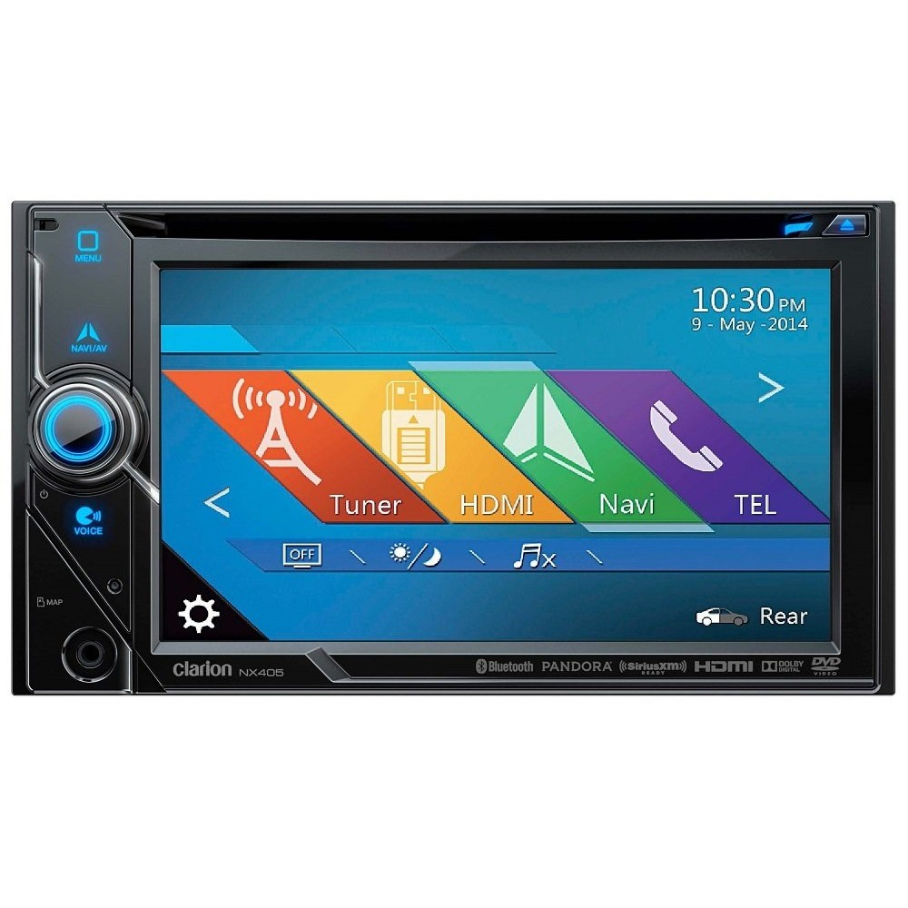 In Car Sat Nav Clarion Car Audio NX405