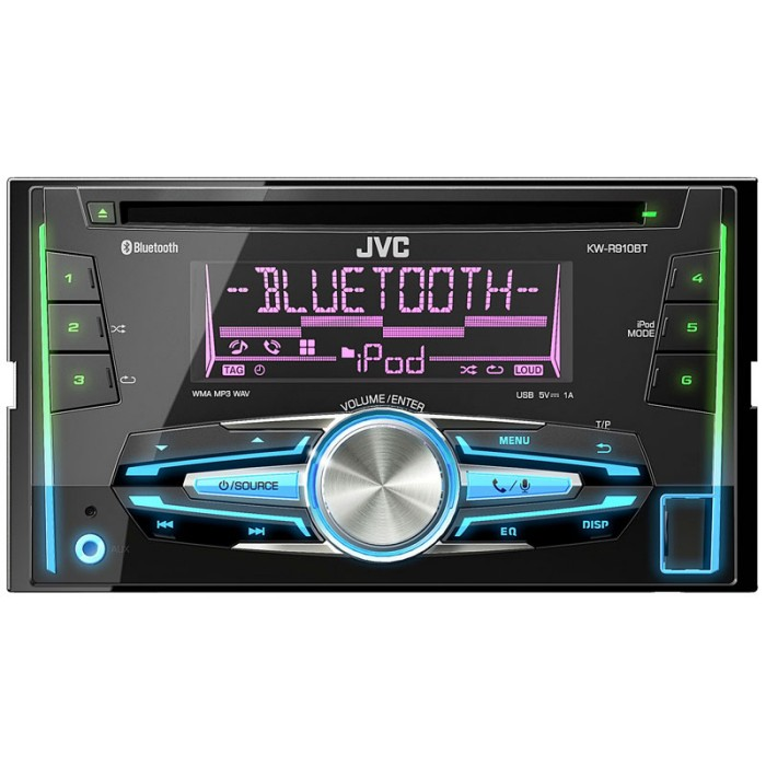 Made for iPod/iPhone JVC KW-R910BT 1