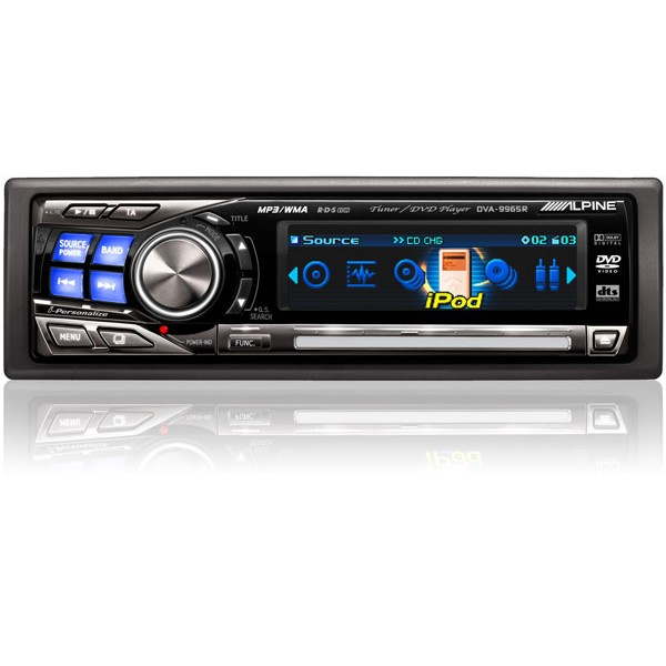 Product m Alpine Dva 9965r p 25745 on panasonic cd car stereo