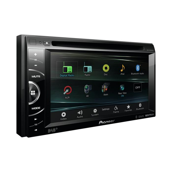 Double Din Screen Pioneer AVH-X3600DAB  DINY403W 1