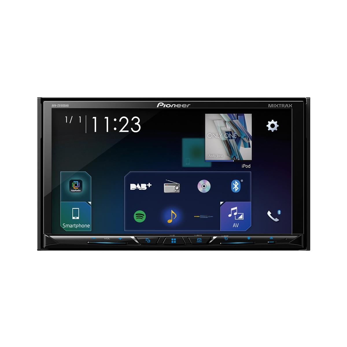 Double Din Screen Pioneer AVH-Z5100DAB