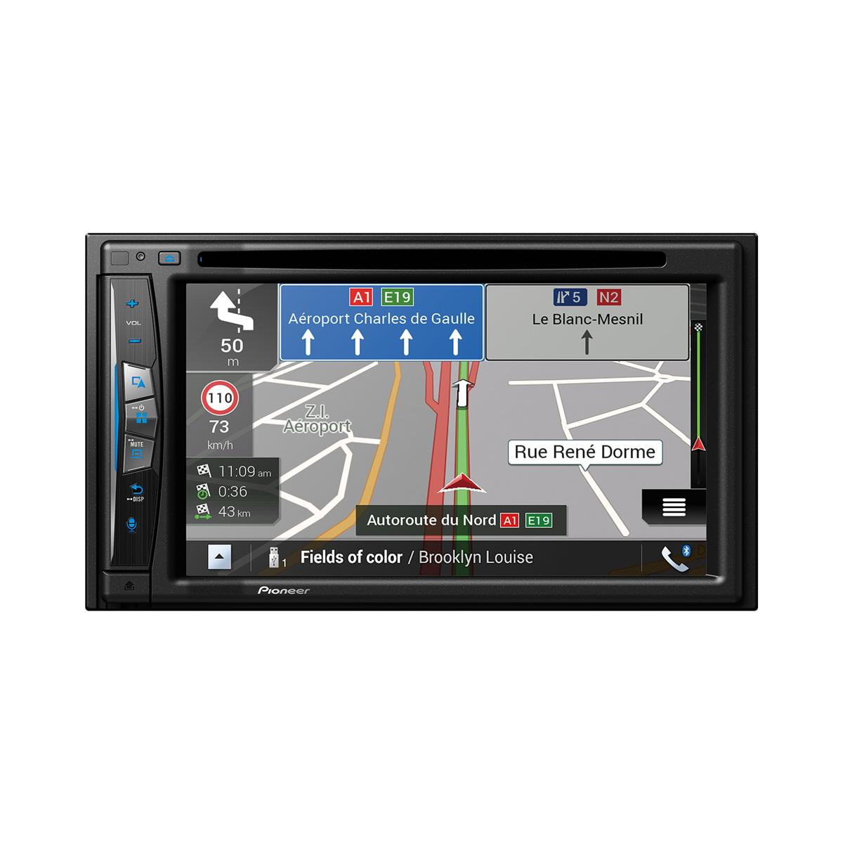 avic f980bt navigation av system with 6 2 touchscreen. Black Bedroom Furniture Sets. Home Design Ideas