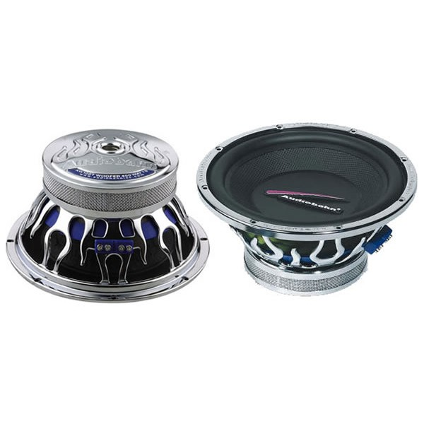 Sub and Amp Packages Audiobahn AW1251T + X500.2 + BX12