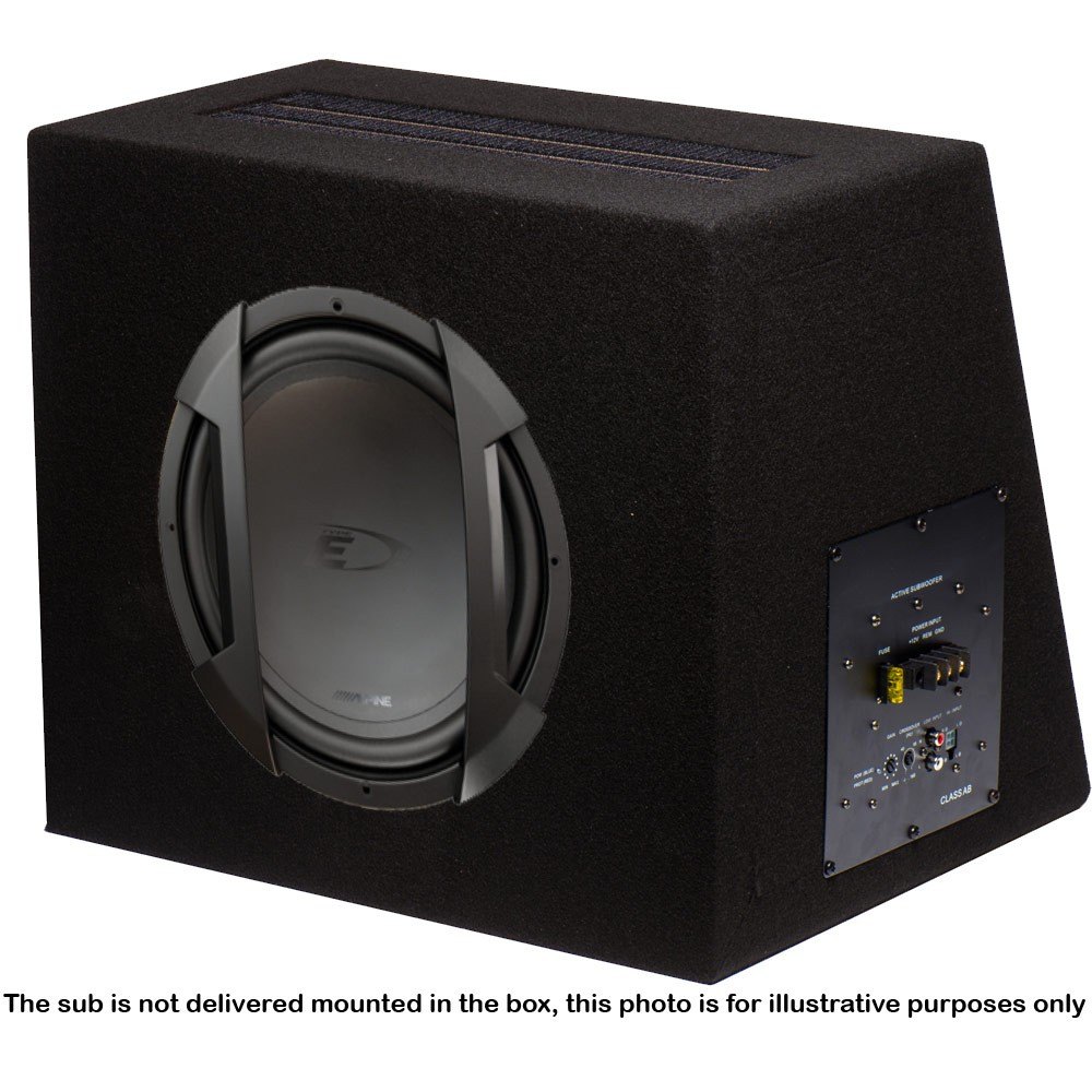 Sub and Amp Packages In Phase Car Audio BX12S SWE-1244EJA1201D