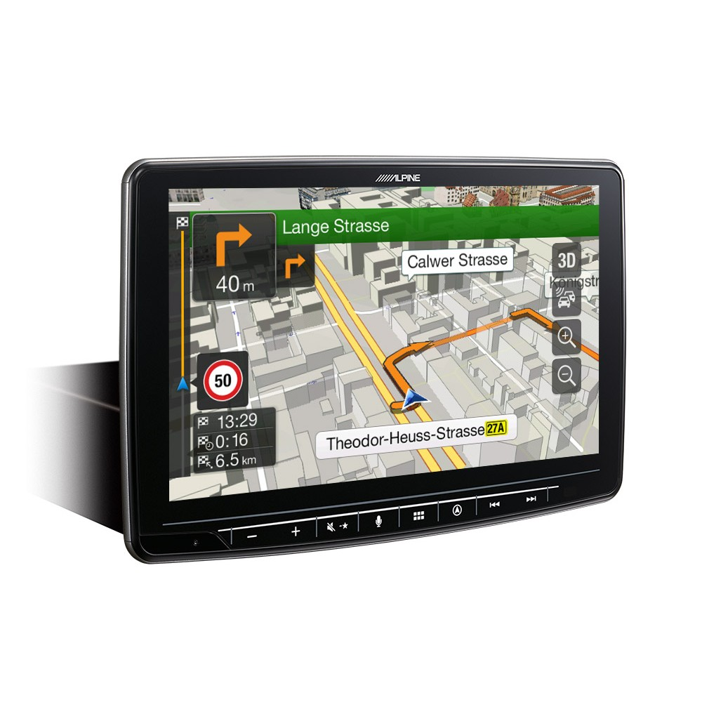 In Car Sat Nav Alpine Car Audio Systems INE-F904D